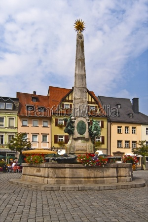 luitpold fountain in kulmbach