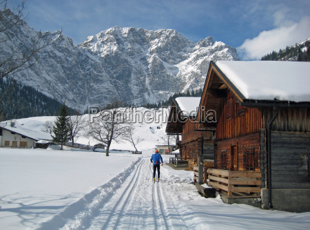 sport sports winter ski region cross