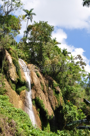 cuba sierra escambray waterfall