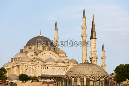 sueleymaniye moschee in istanbul
