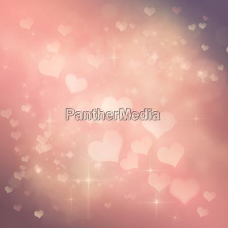valentines day festive bokeh background