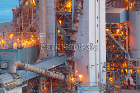 cement plant close up