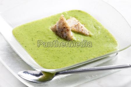 mix brokkoli und blumenkohl suppe mit