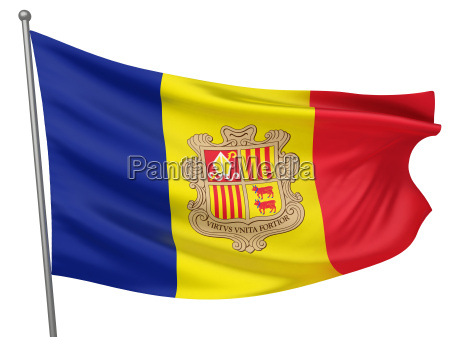 nationalflagge andorra