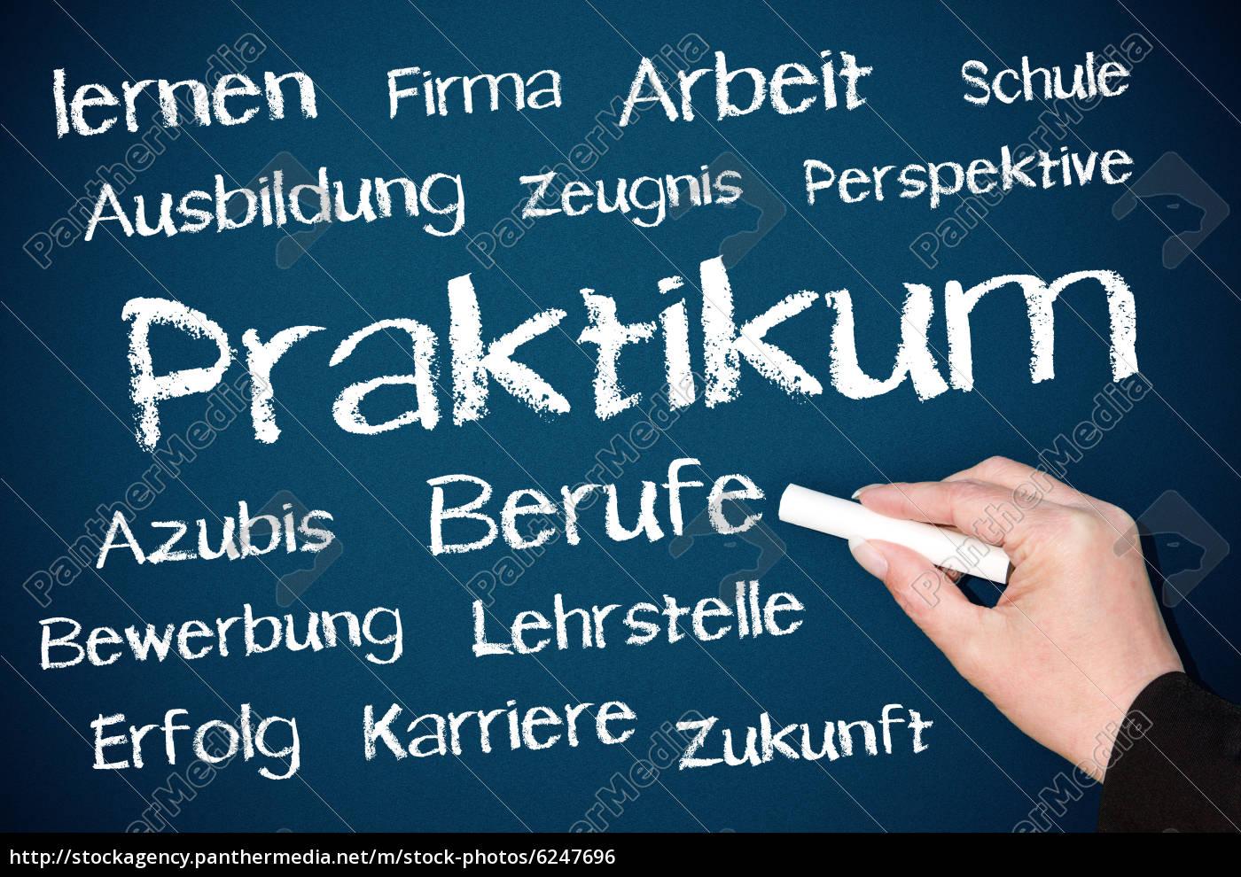 Praktikum - Arbeit und Beruf - Lizenzfreies Foto - #6247696 ...