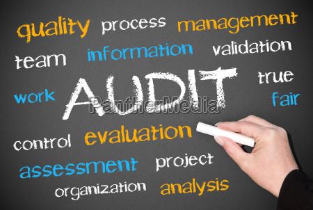 audit business concept