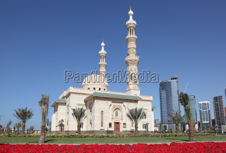 moschee in sharjah city vereinigte arabische