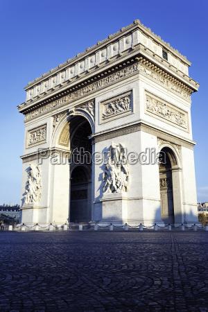 denkmal monument paris frankreich baustil architektur