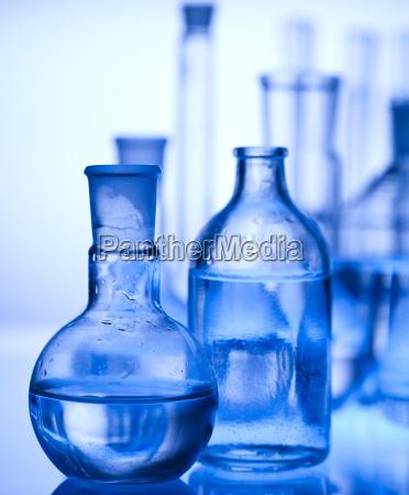 chemistry equipment laboratory glassware