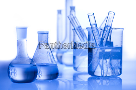 chemistry equipment laboratory glassware