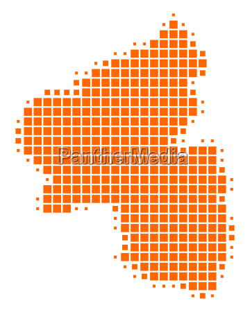 karte von rheinland pfalz