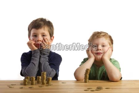 dos chicos de dinero bergen
