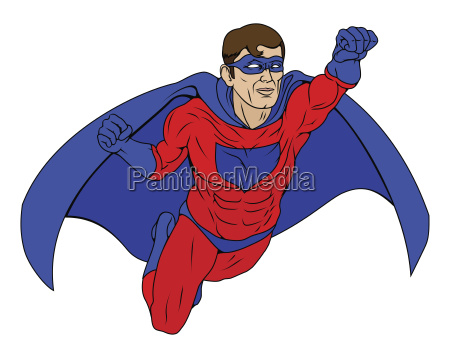 superheld illustration