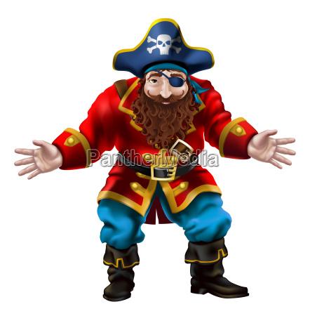 pirat der lustige seemann