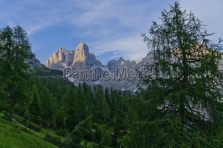 italienische dolomiten landschaft