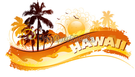 tropical hawaii hintergrund