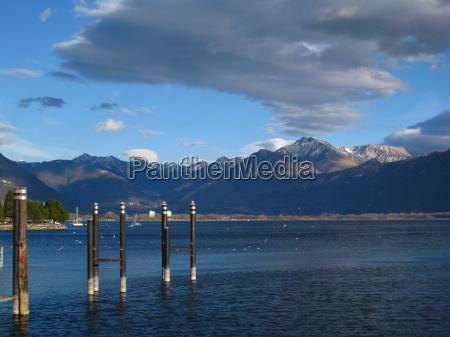 spring awakening at lake maggiore