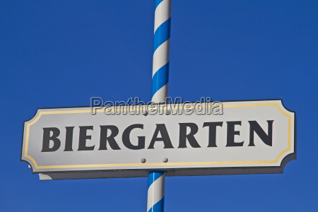 biergartenschild