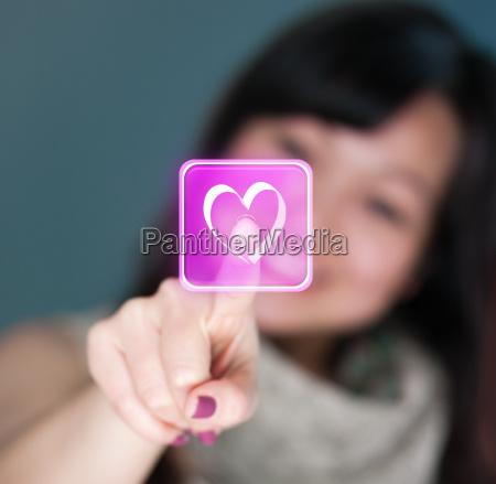 virtuelle valentinsgruss liebe