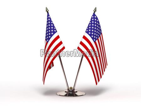 miniatur flagge von usa