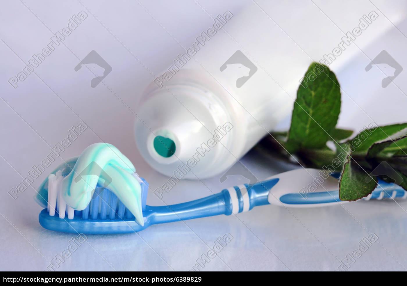 Zahnpasta mit spearmint geschmack