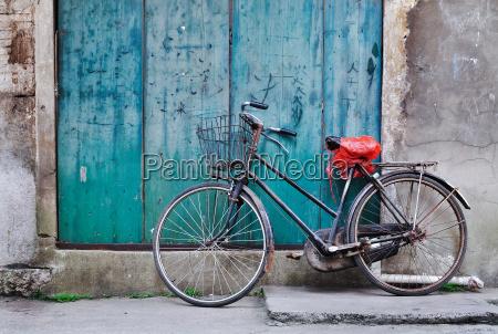 alte chinesische fahrrad
