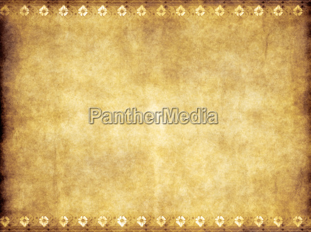 old yellow brown vintage parchment paper
