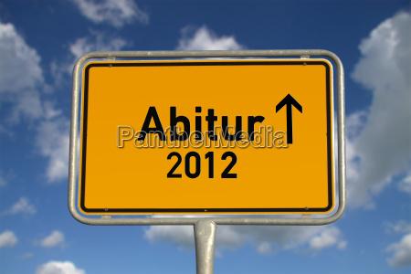 german sign abitur 2012