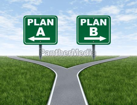 querstrassen mit plan ein plan b
