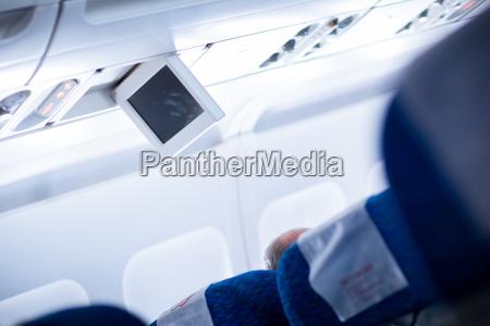 interior of an aircraft