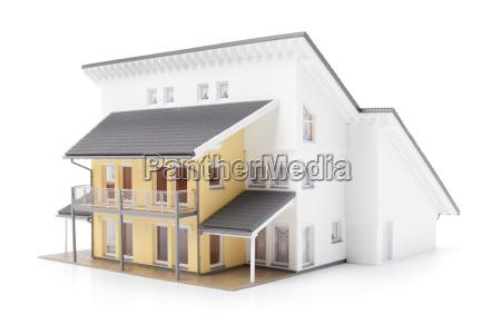 family house model