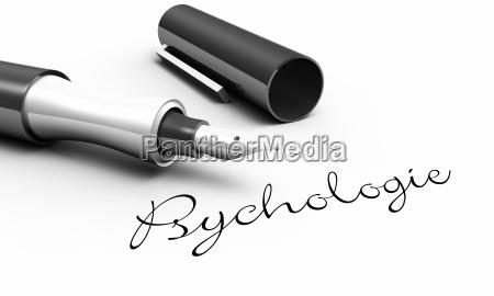 psychologie stift konzept