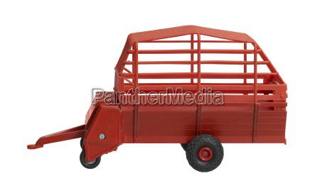 nostalgic hay wagon toy