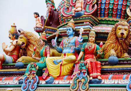 hinduismus statuen