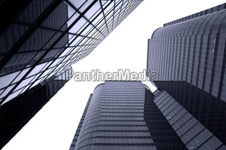 glaswolkenkratzer hintergrund hong kong