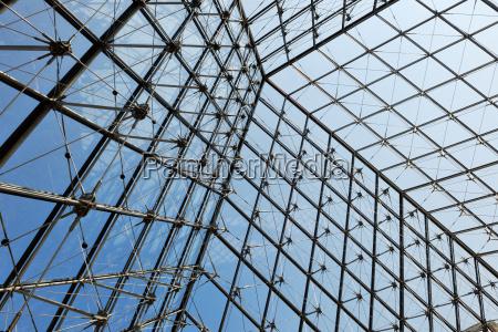 metalldachkonstruktion mit glaskonstruktion