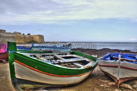 boote im yachthafen von trapani sizilien