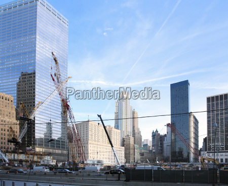 construction site at ground zero