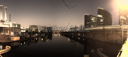 view of berlin mitte in the