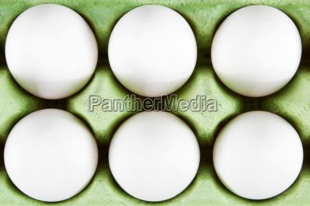 sechs eier
