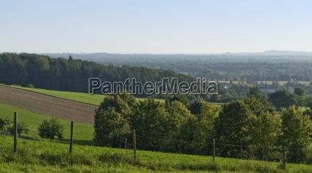 sunny scenery around emmendingen