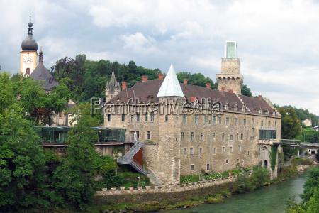 rothschild castle in waidhofen an der