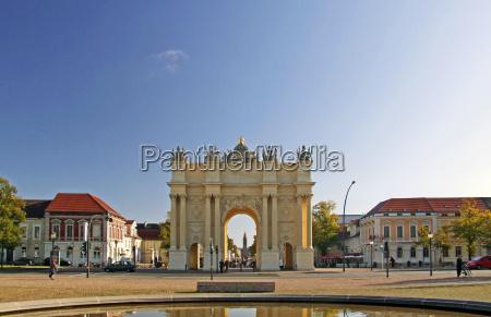 brandenburg gate germany potsdam