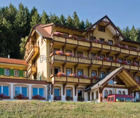 idyllic black forest hotel