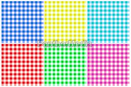 plaid patterns illustration