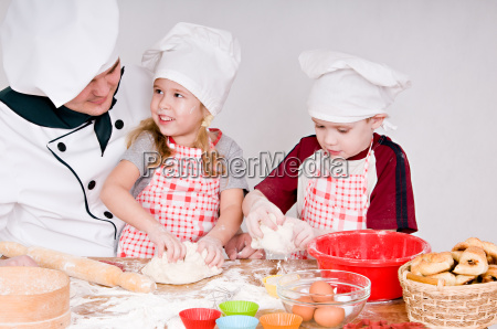 koch mit kindern