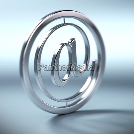 at symbole mail zeichen