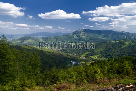 polish mountains beskidy