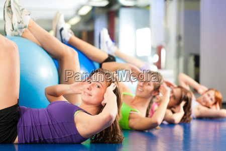 fitness training and workout in