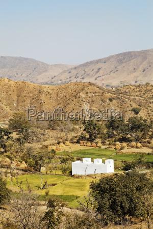 rural famland rajashtan india